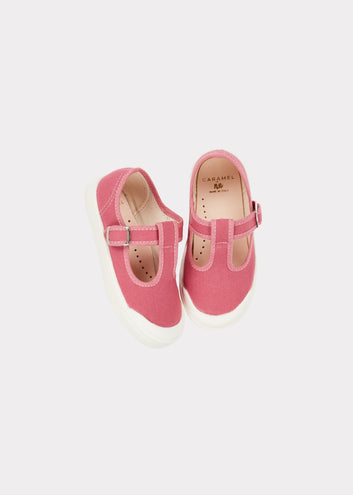 Julius Canvas Shoe, Rose
