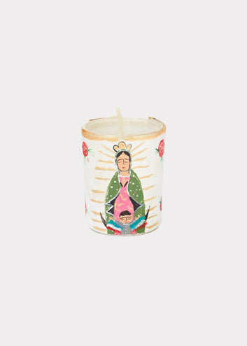 River Song | Handpainted Votive Holder Guadalupe