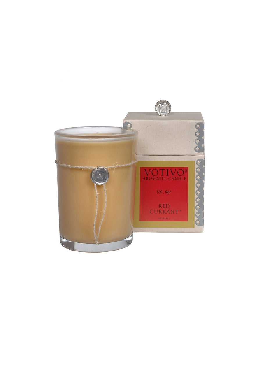 Votivo | Candle In Glass, Red Currant