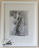 Load image into Gallery viewer, Sitting Serval
