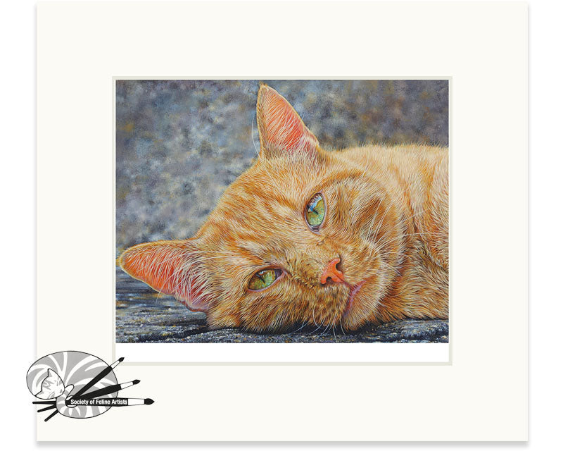 Ginger -  Limited Edition Print