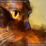 Load image into Gallery viewer, Elli - Burmese Cat Limited Edition Print