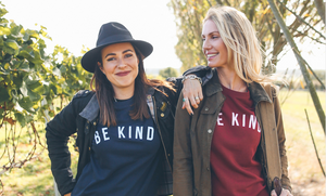 be kind, organic clothing, ethical fashion