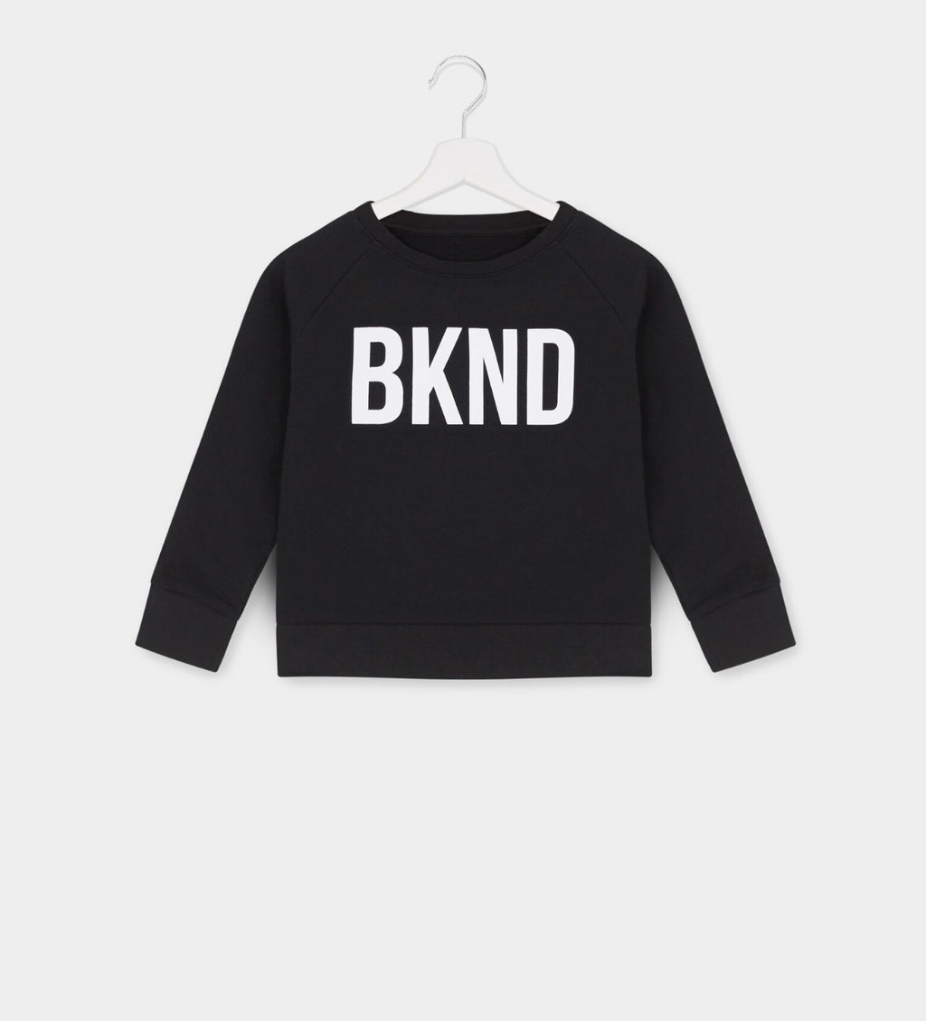 Kids Black & White BKND™ Sweatshirt for Anti Bullying Pro