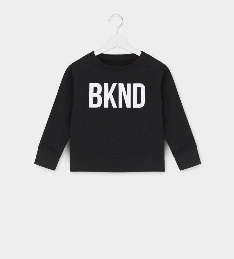 Kids Black & White BKND Sweatshirt