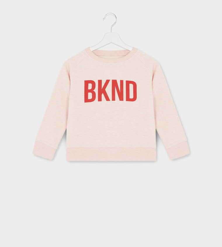 Kids Pink & Red BKND Sweatshirt for Anti Bullying Pro
