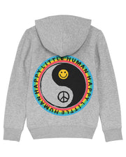 Grey HAPPY LITTLE HUMAN™ Hoodie in aid of YOUNG MINDS