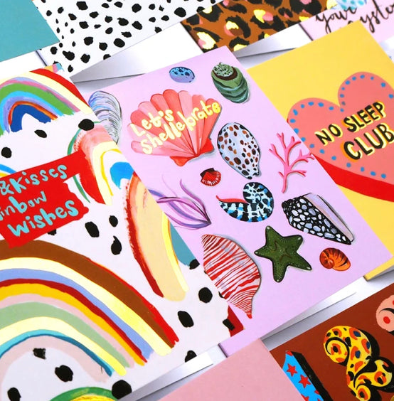 Let's Shellebrate Card by Eleanor Bowmer