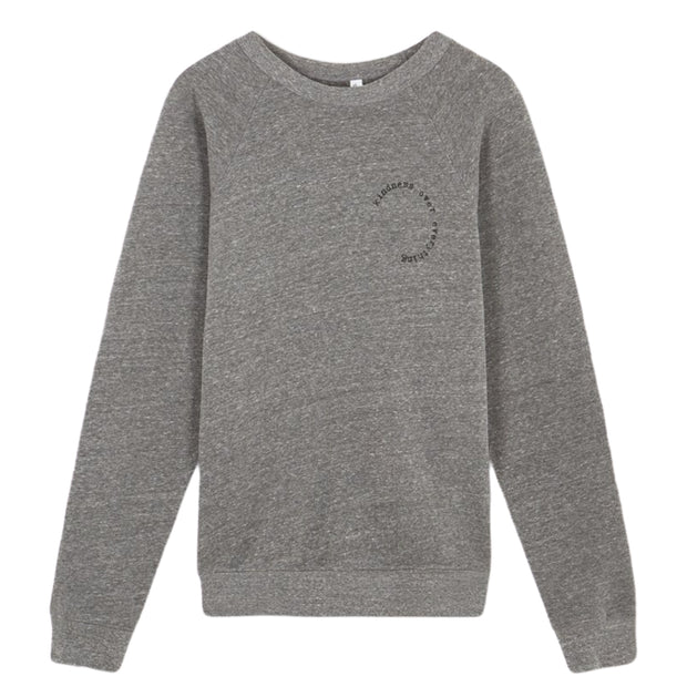 Unisex Grey & Black KINDNESS OVER EVERYTHING™ Sweatshirt in aid of Mind Charity