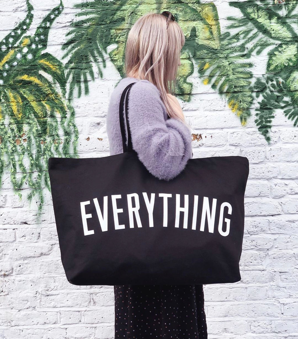 Everything - Black REALLY Big Bag