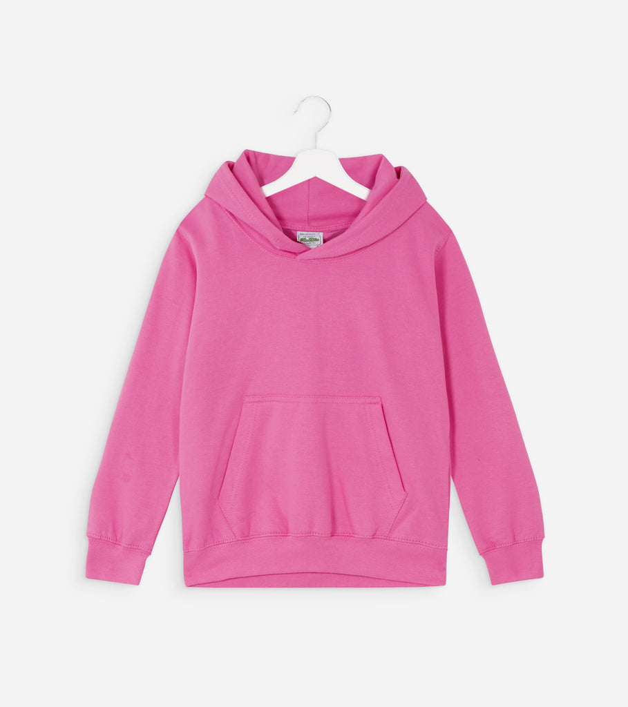 Kids Pink and White BE KIND Hoodie for Anti Bullying Pro