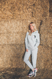 Grey HAPPY HUMAN™ Hoodie in aid of MIND Charity.