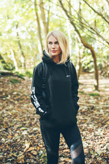 Unisex Black & White HUMAN KIND Hoodie in aid of Mind Charity
