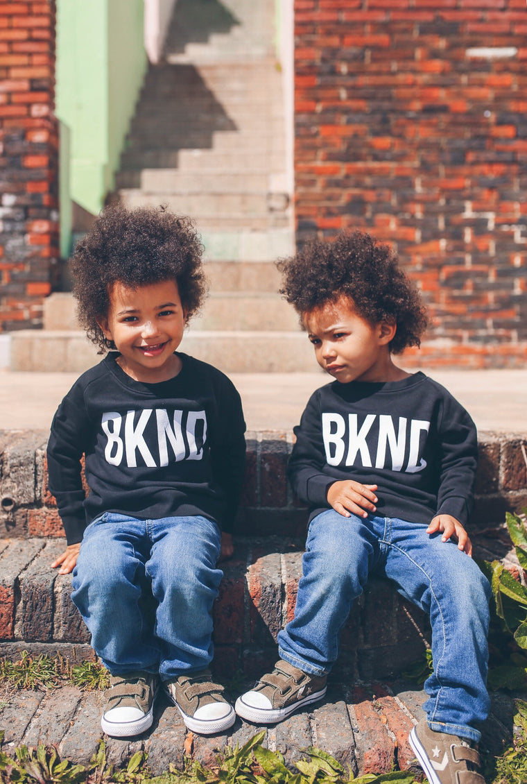 Kids Black & White BKND Sweatshirt for Anti Bullying Pro