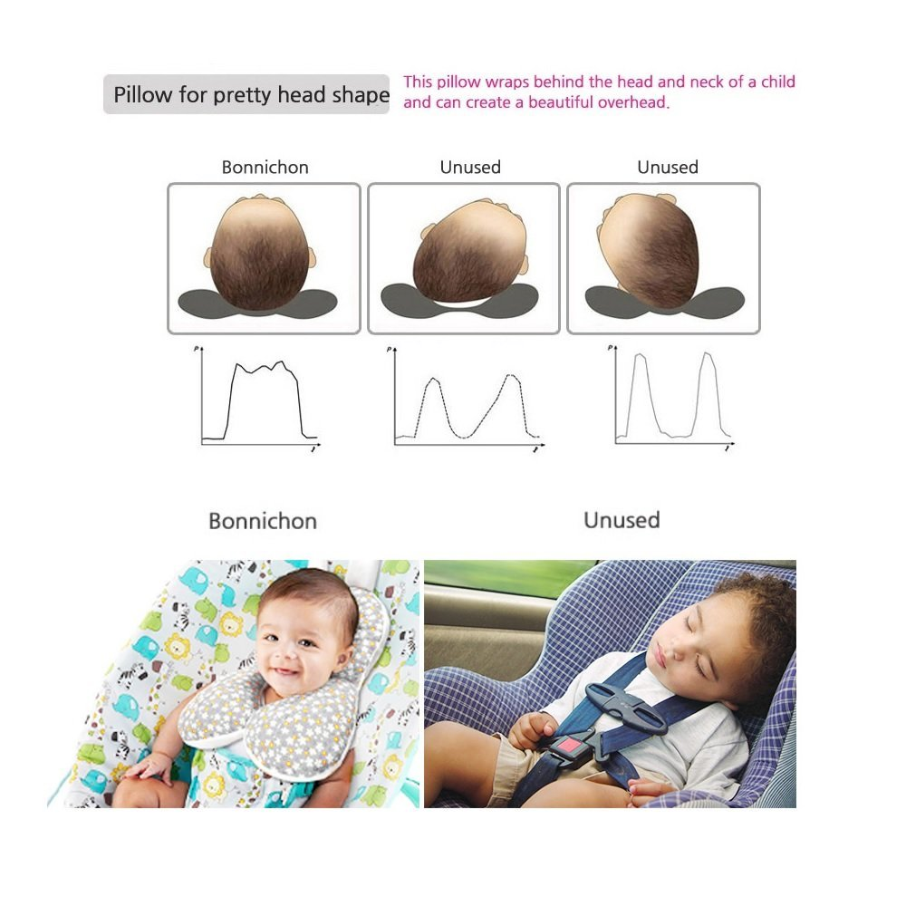 Baby Pillow For Newborn Baby Breathable 3 Dimentional Air