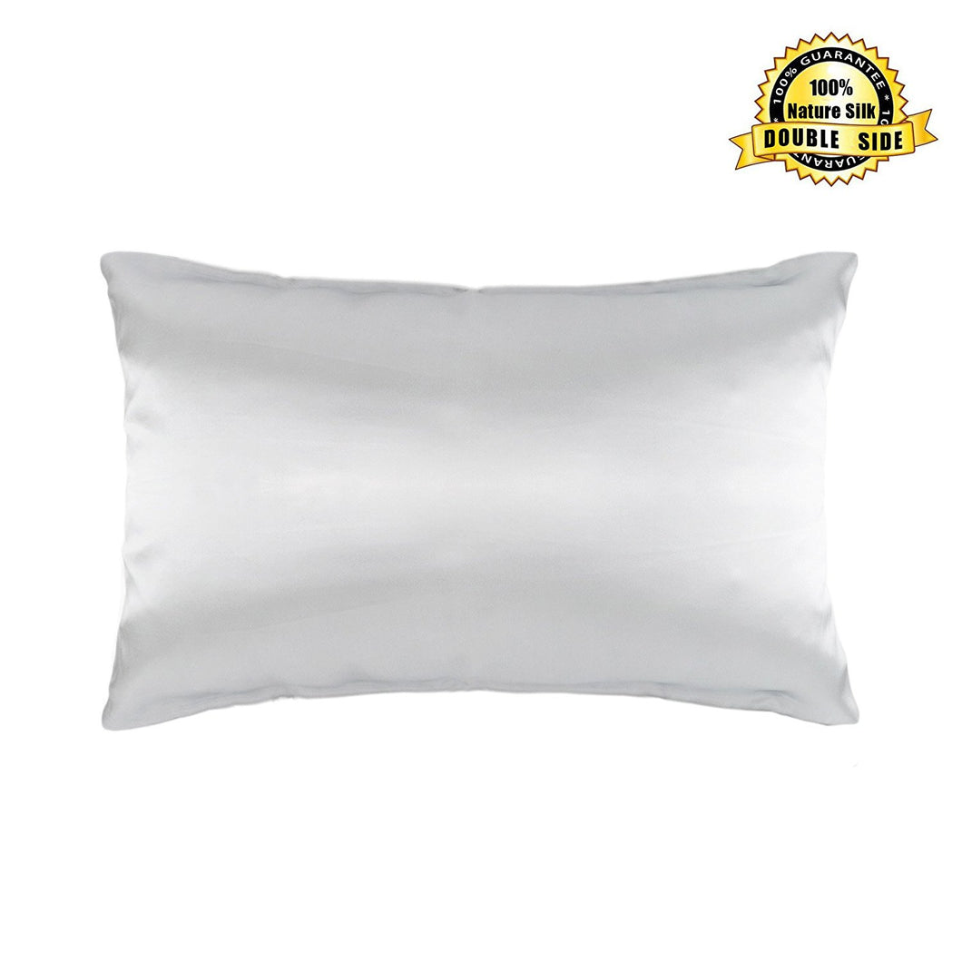 Hodeco Double Sides 100% Mulberry Silk 19 Momme Pillowcase