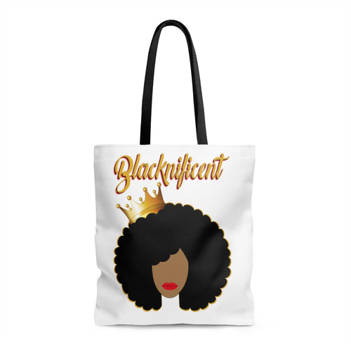 Blacknificent (Afro) Tote Bag