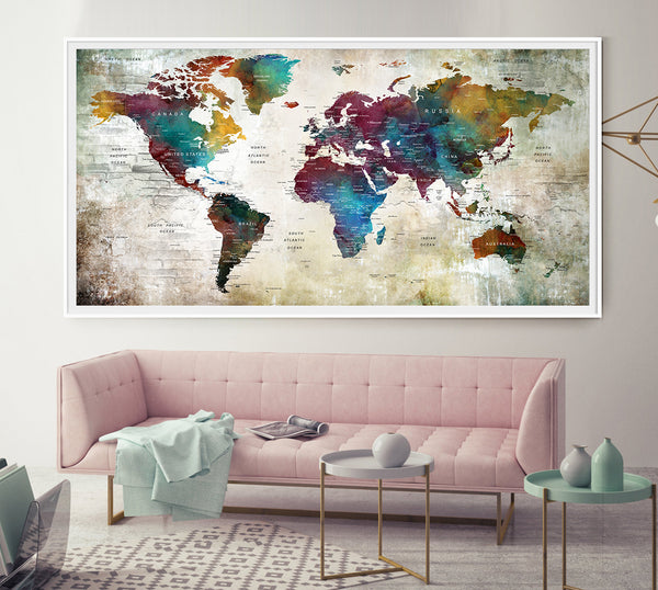 Map of the World Travel