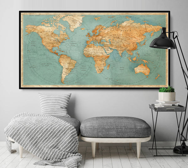 World Map, Map of the World, World Map Poster, Large World Map, World on giant globe maps, world map with countries poster, small world map poster, giant periodic table poster, extra large world map poster, high resolution world map poster, ikea world map poster,