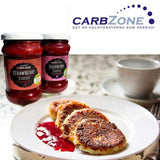 Low Carb® Hallonsylt 75% (320g) | Low Carb® Raspberry Jam (320g) - CarbZone - 5