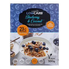 Low Carb® Blueberry & Coconut Crunchy Granola  (best before 2019-01-31)