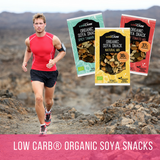 Low Carb® Organic Soya Snack - Tamari Mix - CarbZone - 3