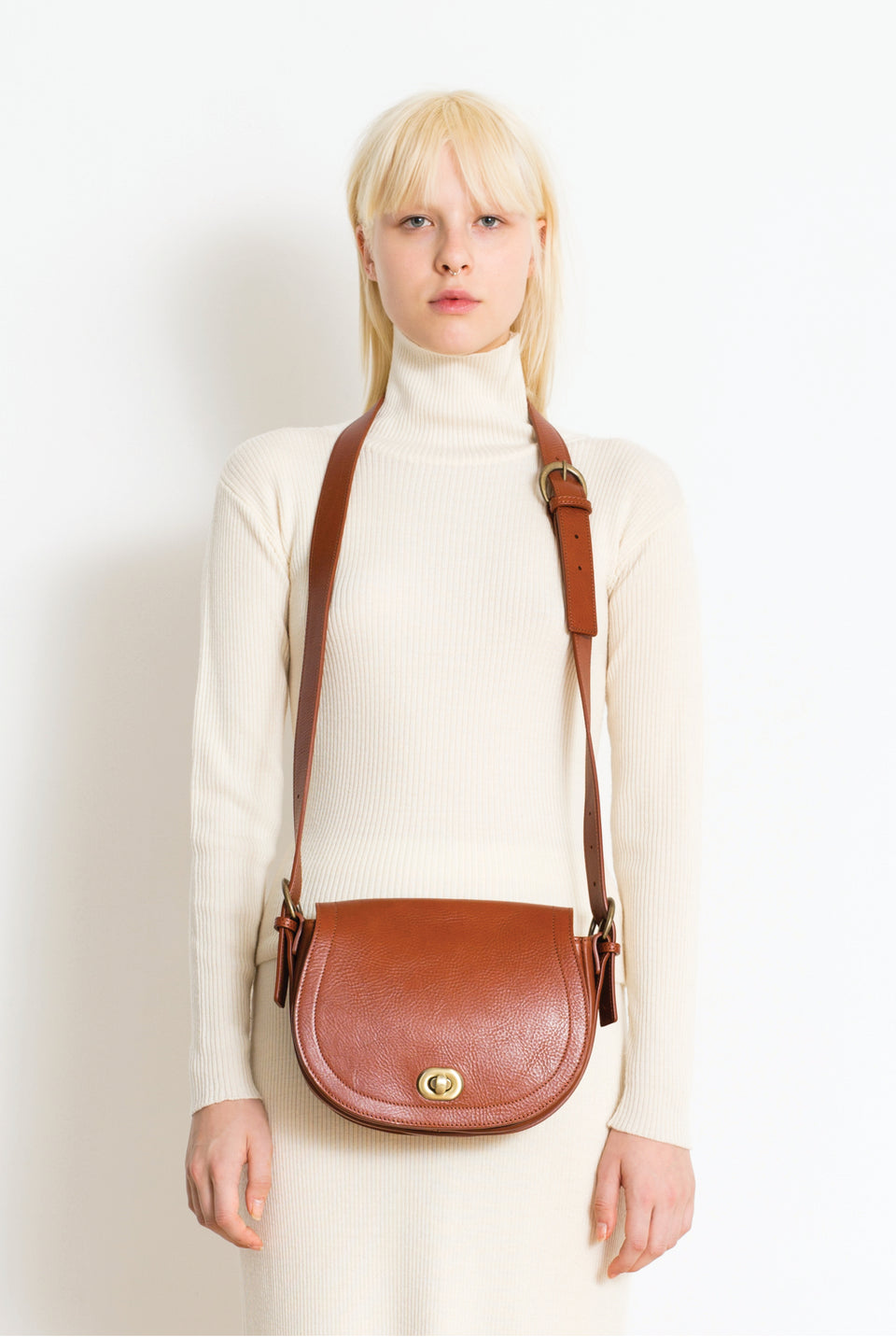 Saddle Bag Cognac