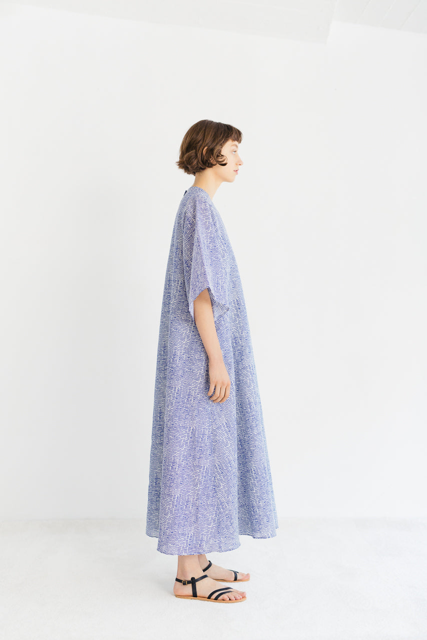 Samuji SS19 Taura Dress Tuuli Blue