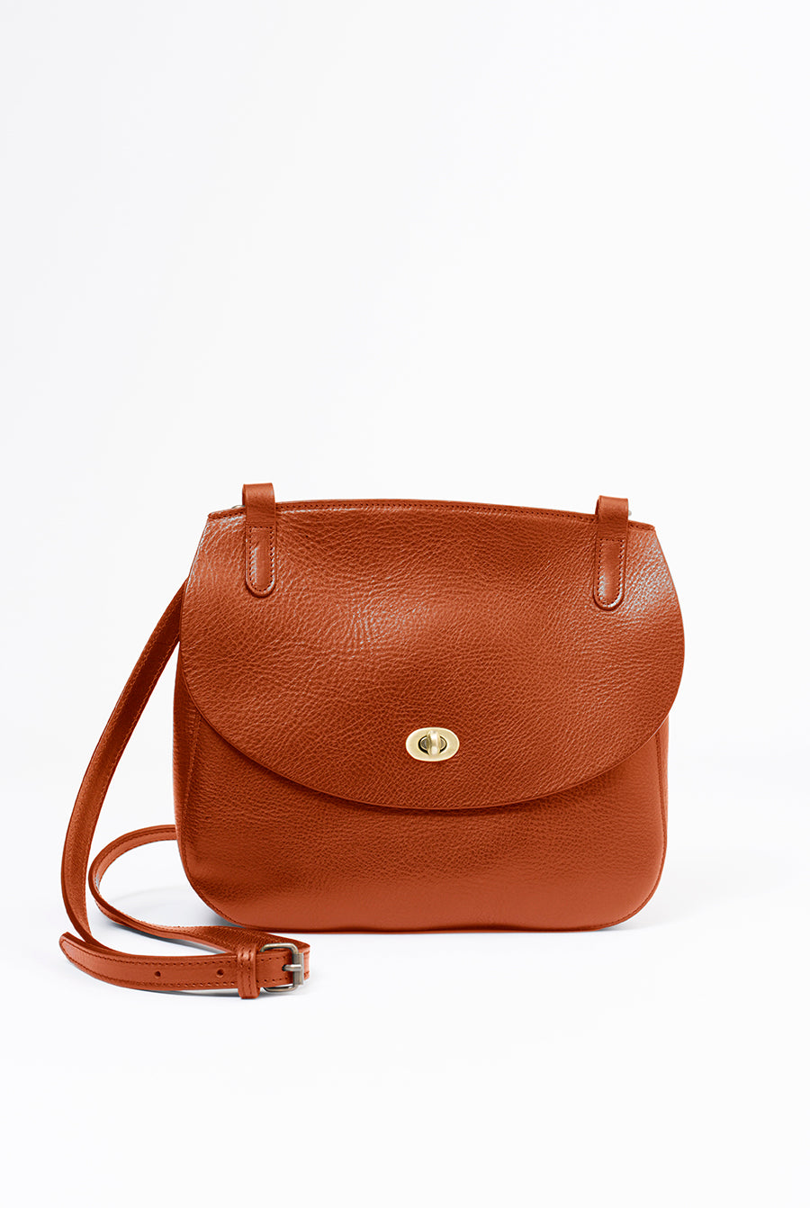 Purse Bag Cognac