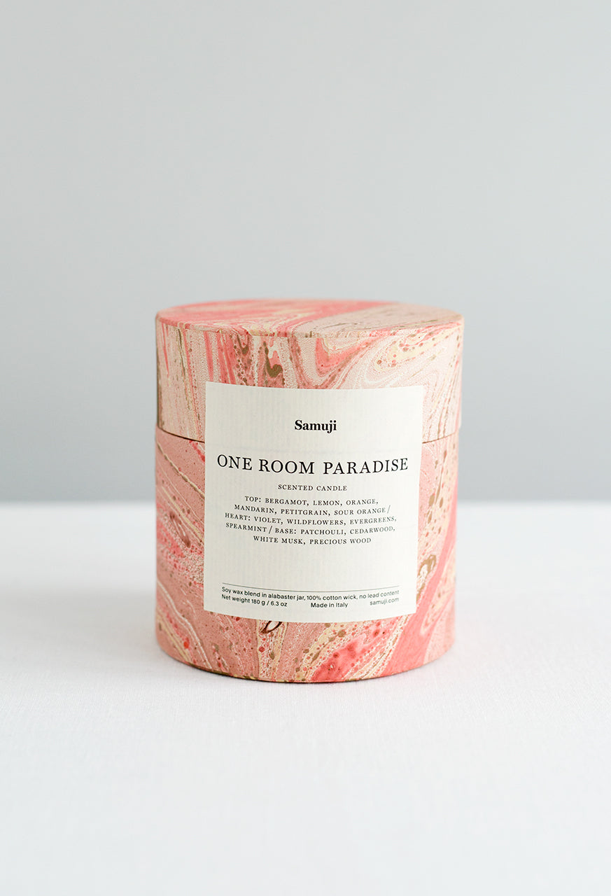 Scented Candle - One Room Paradise