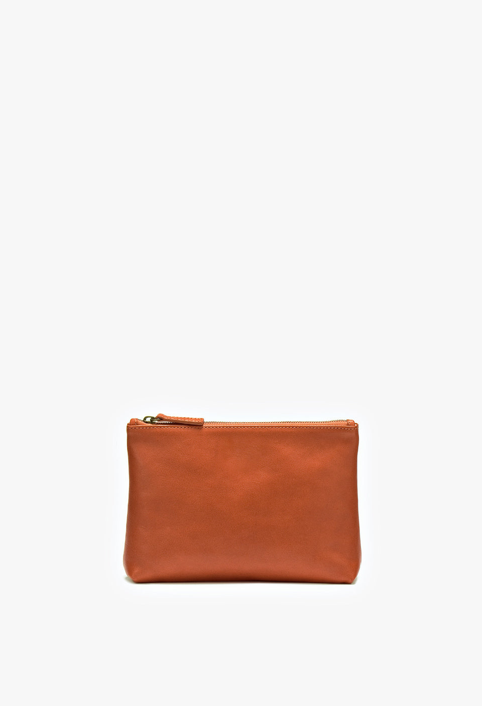 Small Vene Purse Cognac