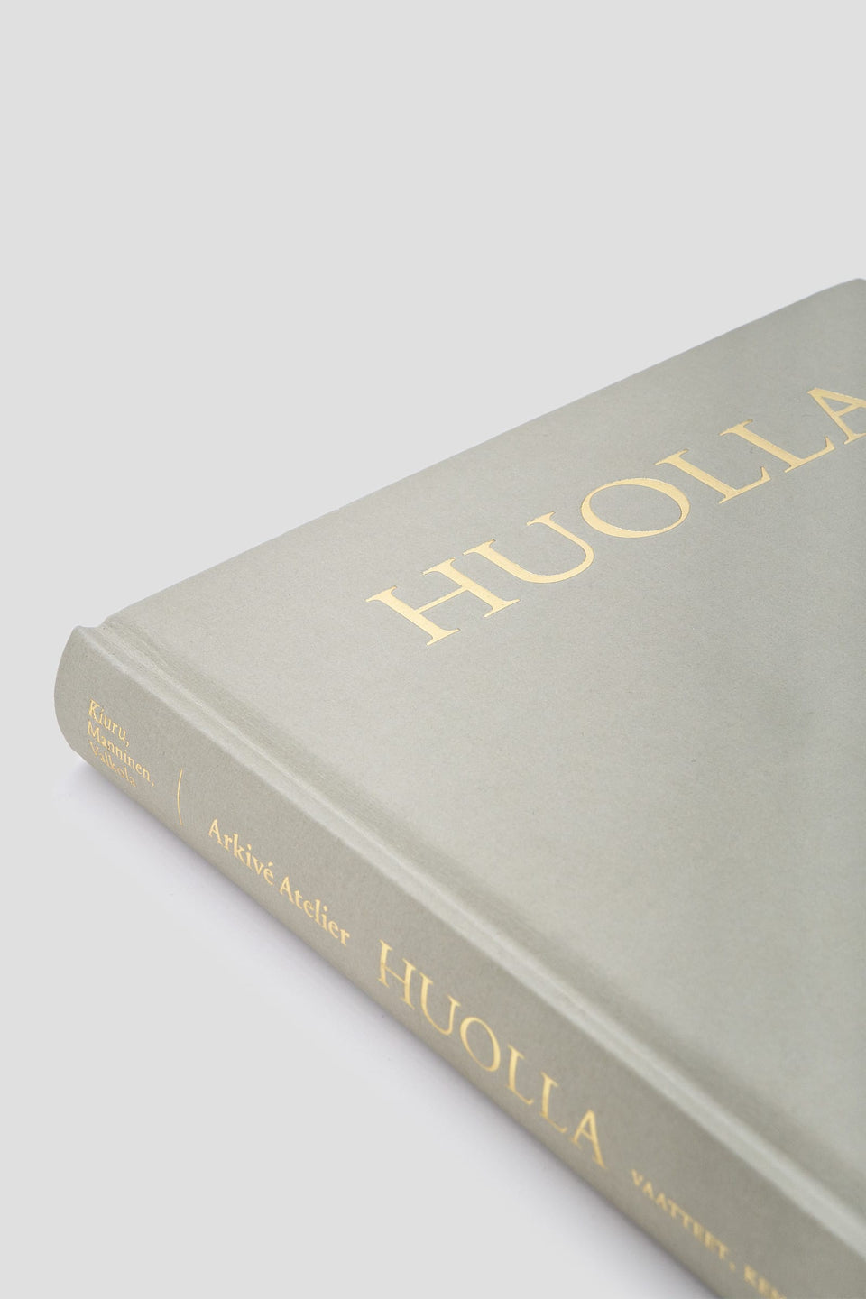 Huolla Book by Arkivé Atelier