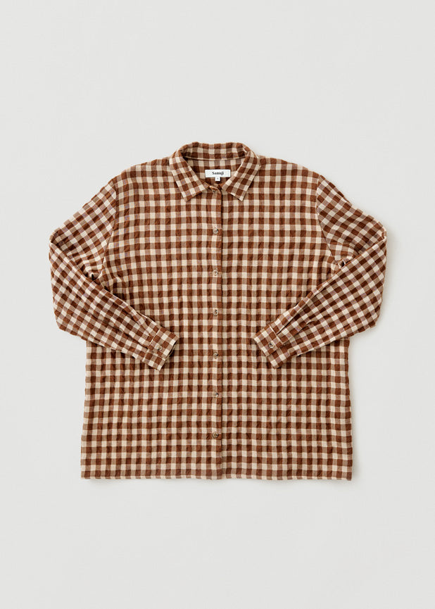 Wesley Shirt Wool Square