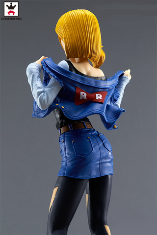 Android 18 Standing Figure