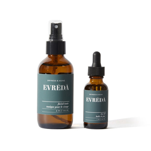 Evreda Dryness & Aging Everyday Essentials Bundle