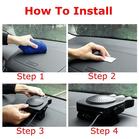 Portable Windshield Defroster 10