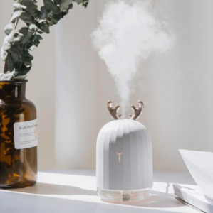 Mini Humidificateur Portable Veilleuse Chargeur USB Forme de Cerf - Beauty's Secrets