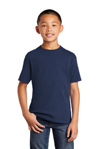 Port & Company® Youth Core Cotton Tee_Blues