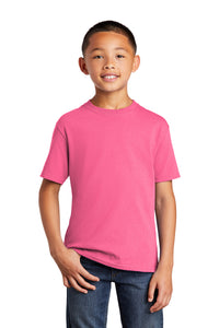 Port & Company® Youth Core Cotton Tee_Neon Colors