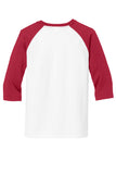 Braves Raglan - Red/White