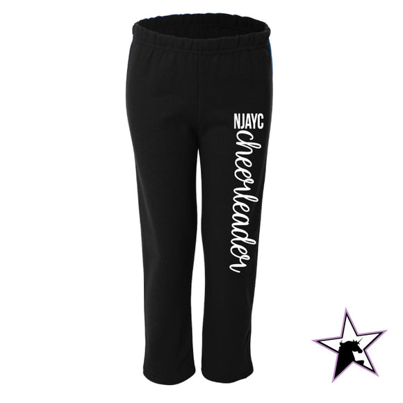 NJAYC Cheerleader Sweatpants