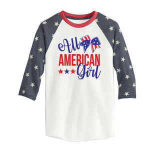 All American Girl Raglan