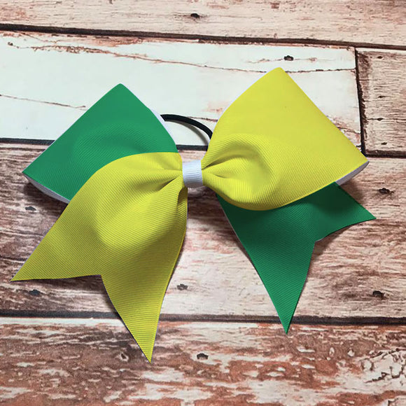 Green & Yellow Bow