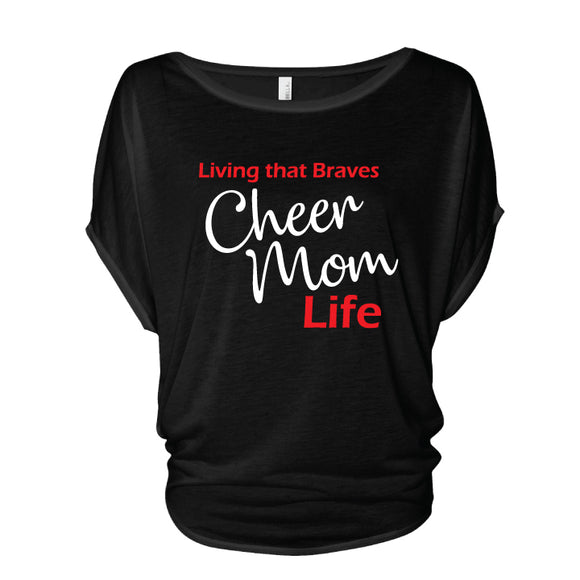 Braves Cheer Mom Life