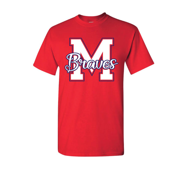 Red Braves Tee