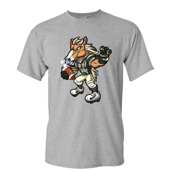 Brick Football Grey Tshirt