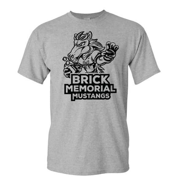 Brick Football Grey Tshirt 3
