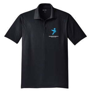 Black Comprehensive Polo