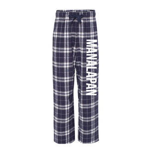 Braves Flannel Pants -Navy/Silv