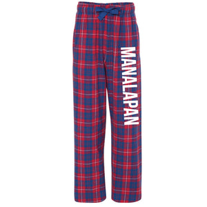 Braves Flannel Pants -Red/Blue